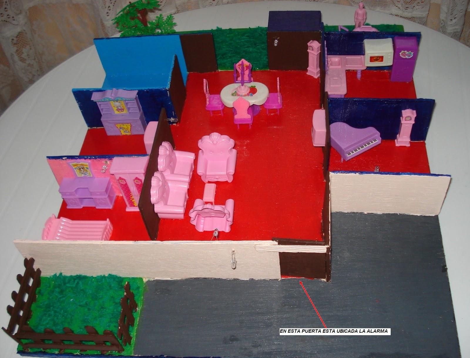 Como hacer una maqueta de un dormitorio infantil maqueta for Como hacer un proyecto de comedor infantil