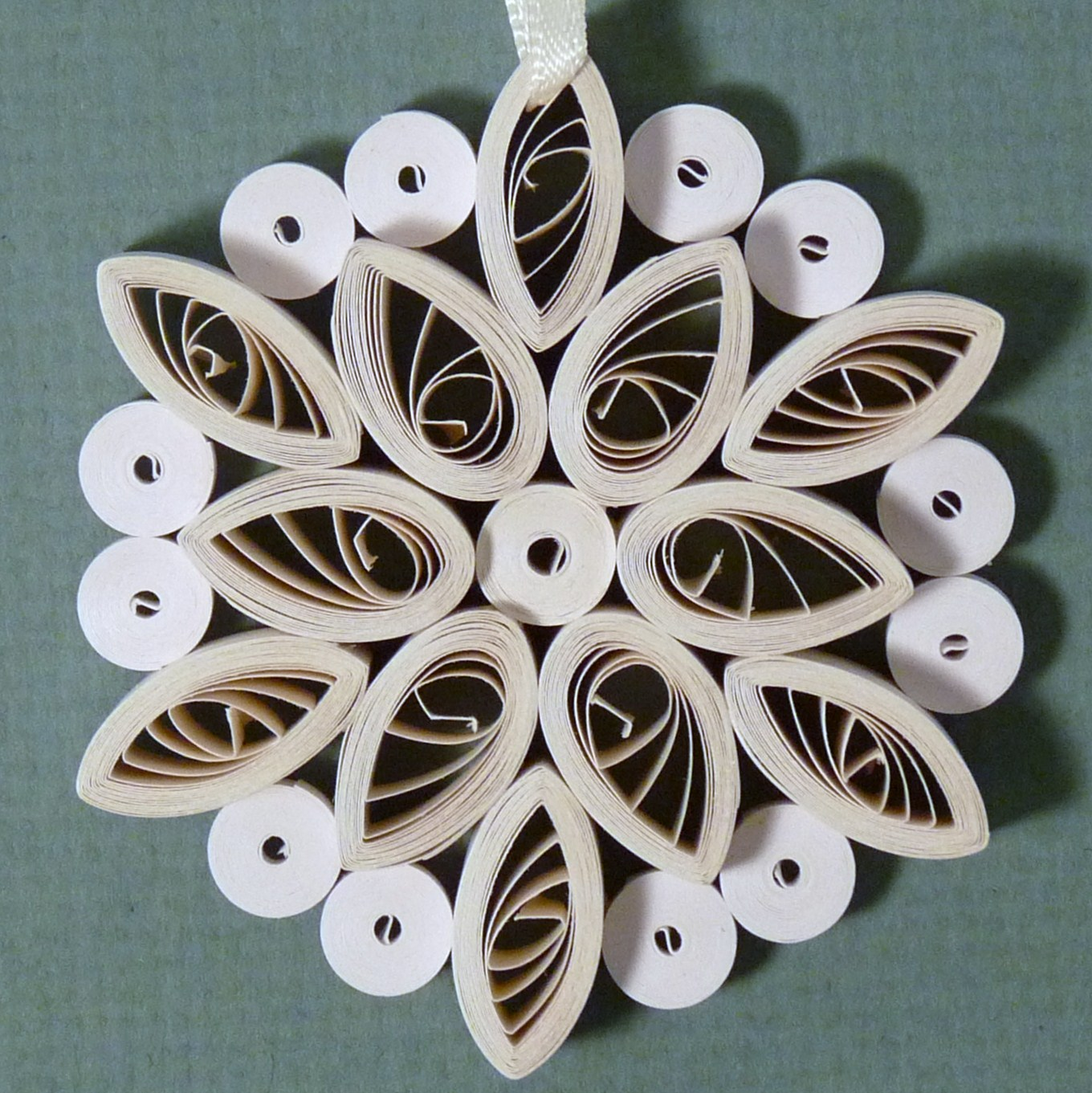 Quilling by sandra white quilled christmas ornaments