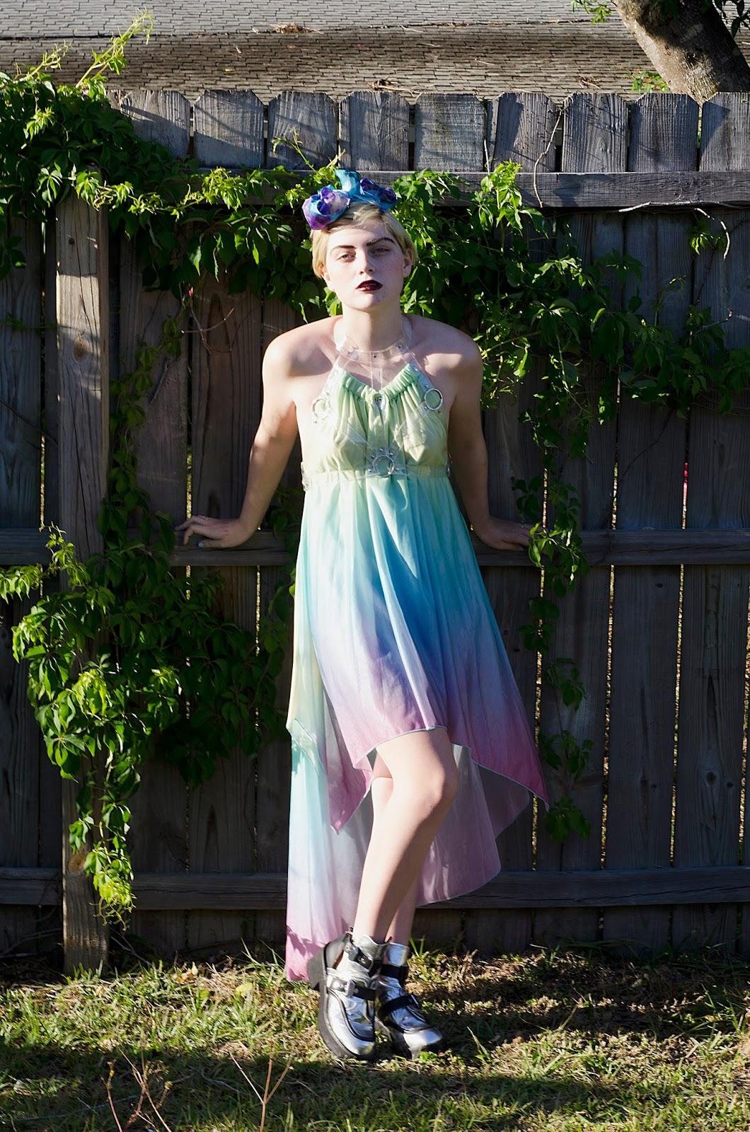 Nicki Minaj Wears See Through Tights A fairy when i wear it.
