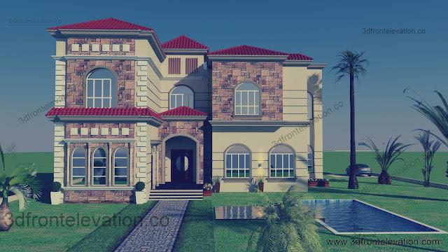 Beautiful Mediterranean Villa for Life Time Design Oman