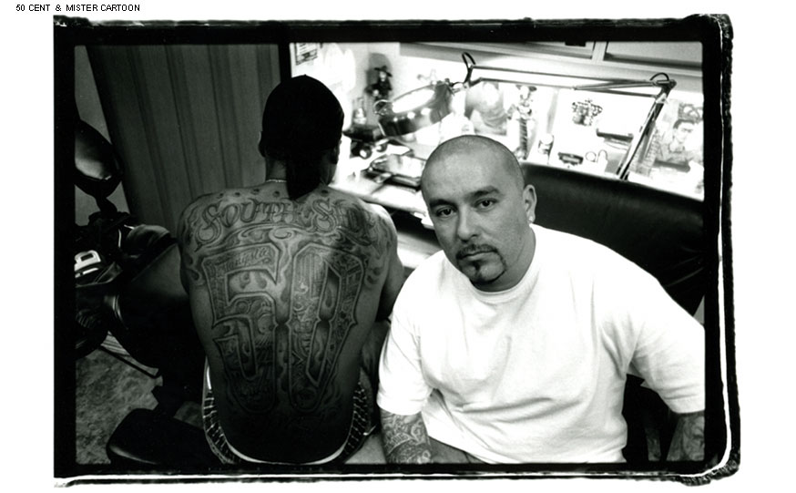 His Authentic Chicano Style Black And Grey Tattoo's Are Instantly