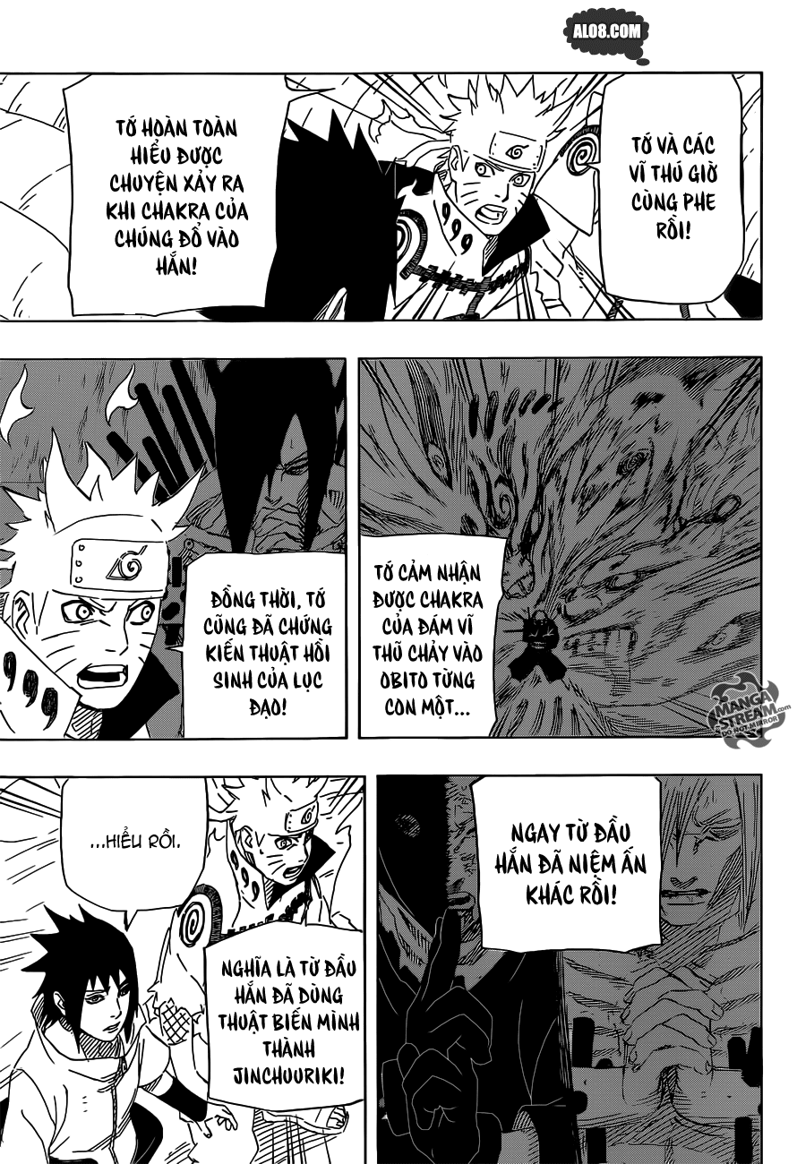 Naruto chap 638 Trang 7