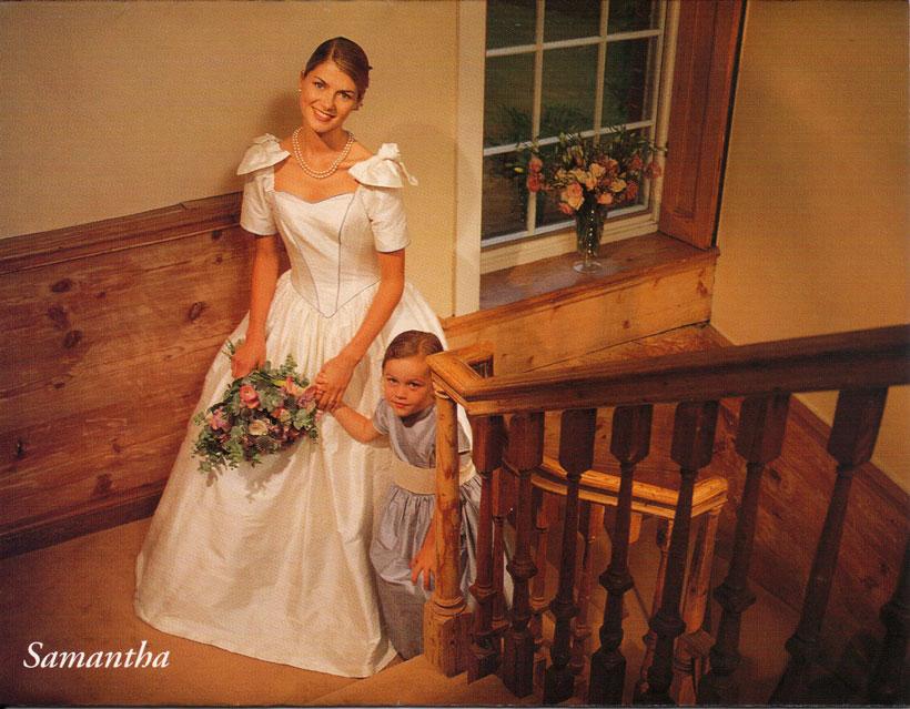 Fiber of my being: Laura Ashley Brides