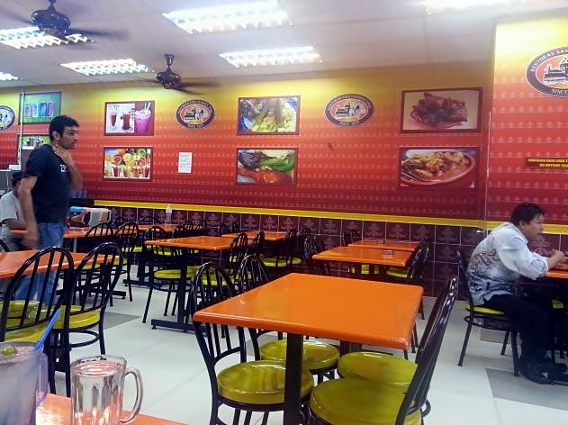 Restoran Nasi Vanggey Ipoh,Seksyen 19 Shah Alam.