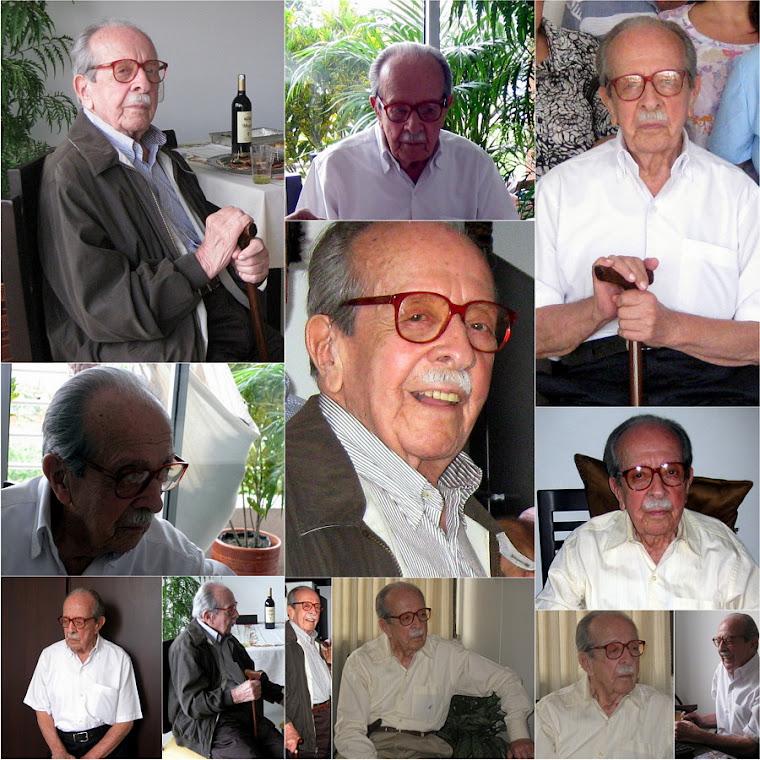 Foto Collage Oswaldo Ossa Ossa El Longevo de la familia Ossa Ossa 95 años (1917 † 2013)