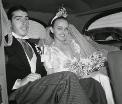 Number 16 Marilyn Monroe and Joe DiMaggio Their marriage in 1954