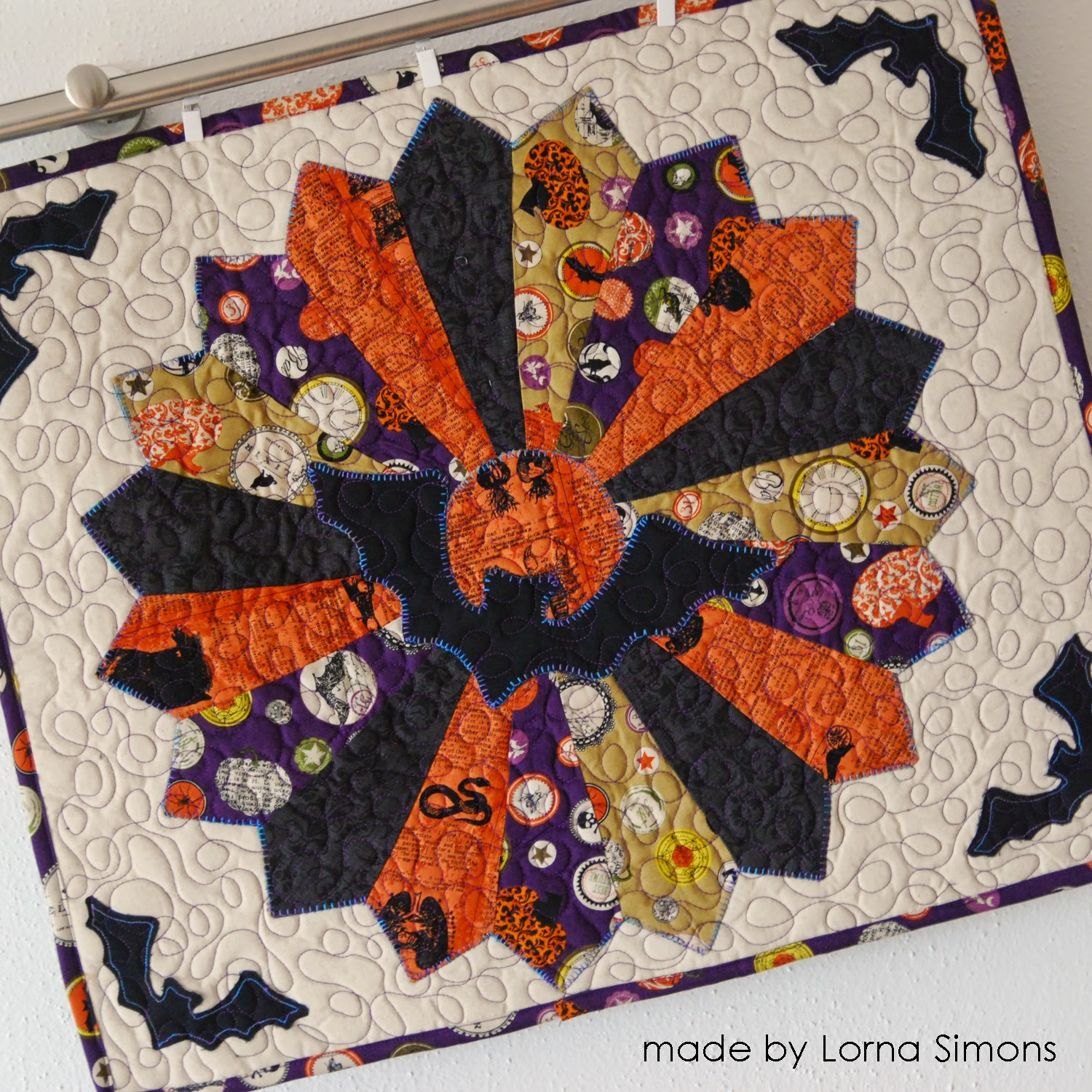 easypatchwork: halloween quilts