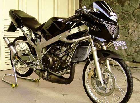 Modifikasi Ninja 150 R, motor ninja racing