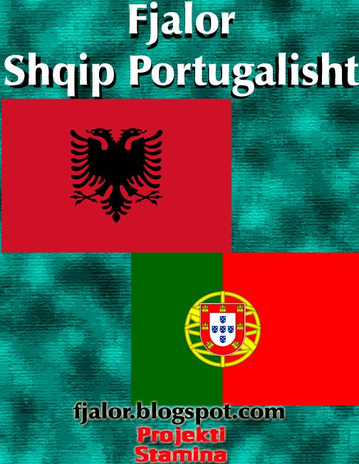 Fjalor Shqip Portugalisht