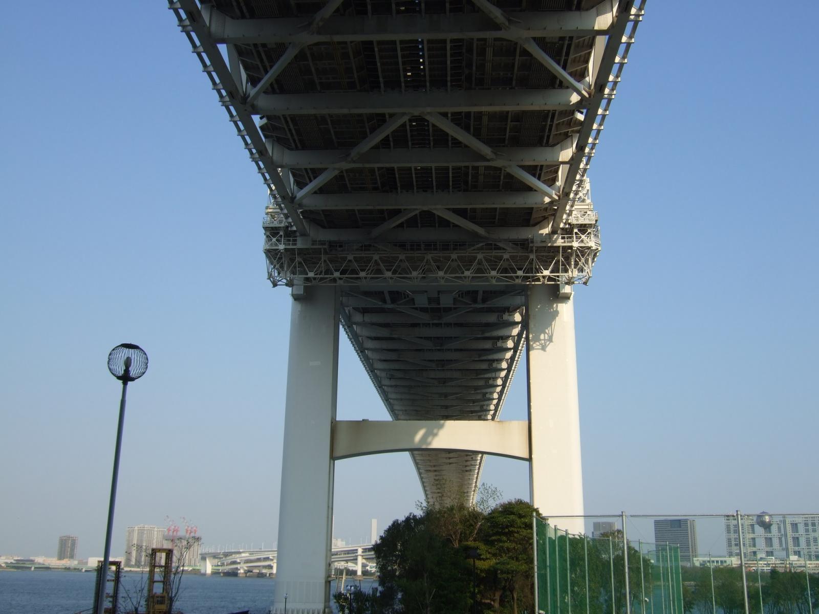 レインボーブリッジ,田町側から,東京〈著作権フリー無料画像〉Free Stock Photos