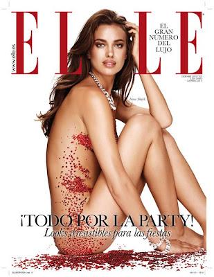 Irina Shayk se desnuda para Elle