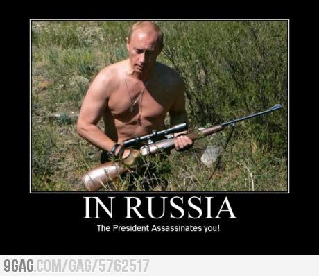 In Russia..