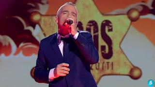 Eros Ramazzotti canta Al fin del mundo-Final La Voz 2015