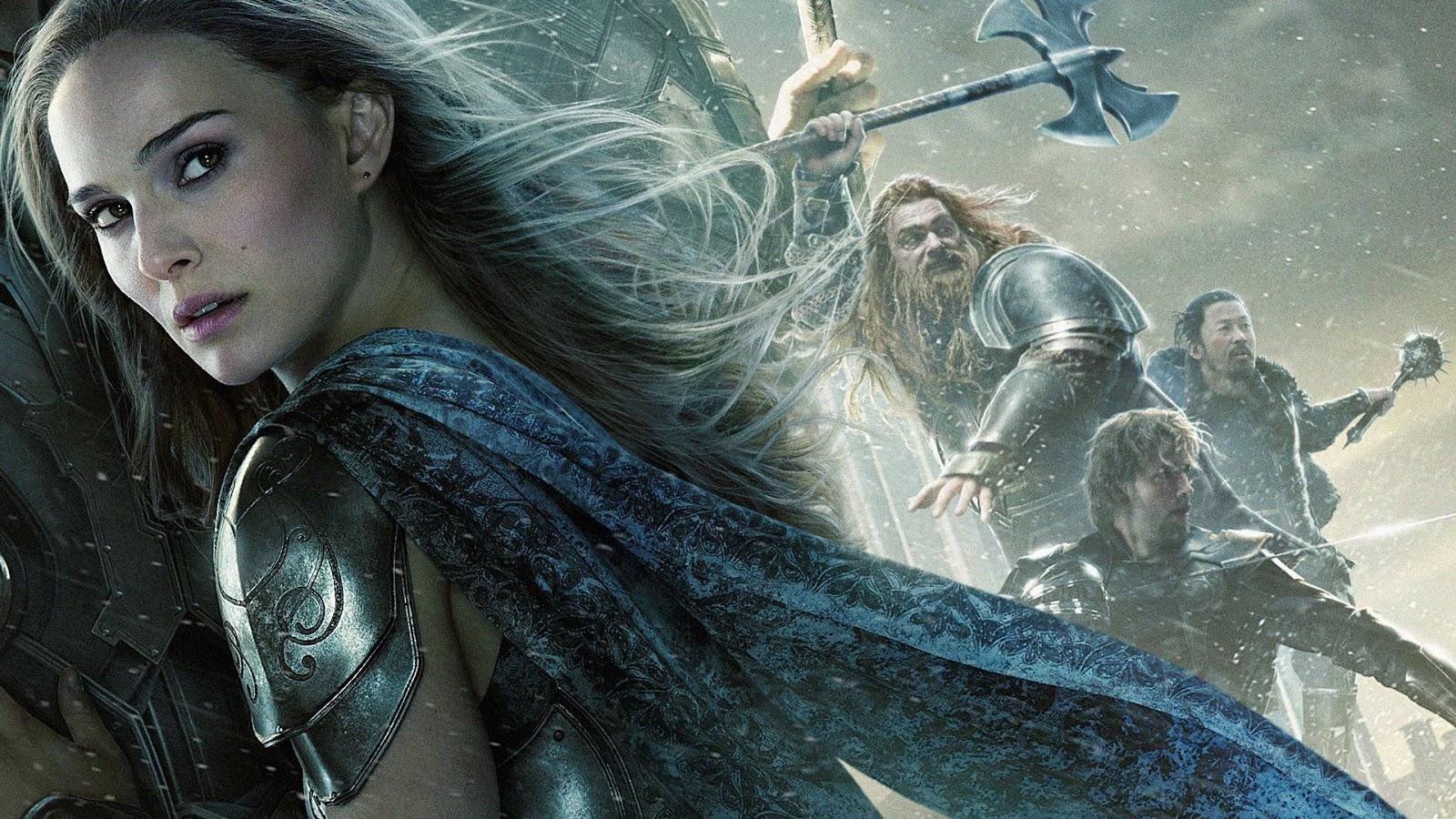 Natalie Portman Thor 2 Movie Wallpaper HD