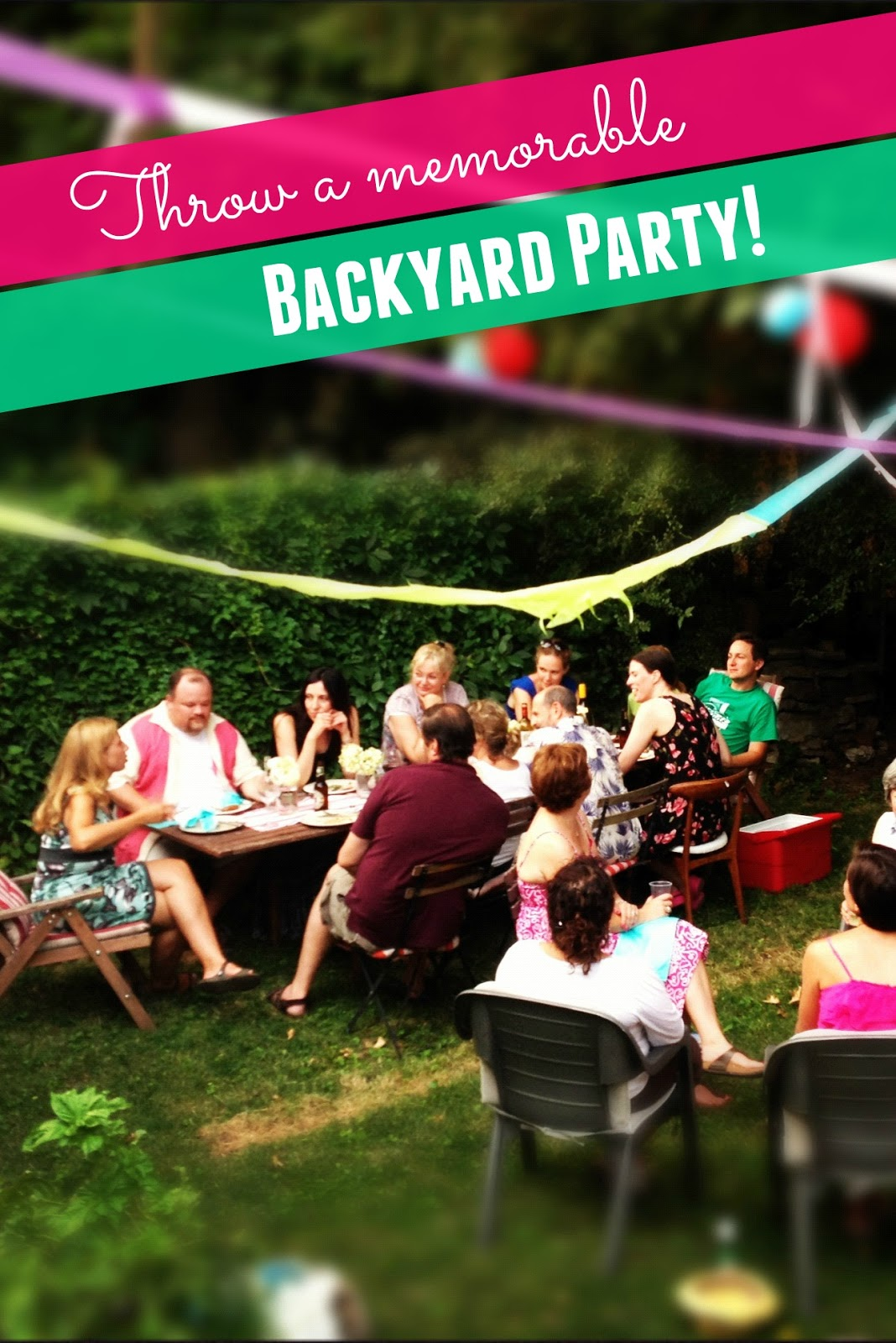 Thanks Mail Carrier Tips For Throwing The Best Backyard Party