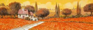 pinturas-de-casas-y-flores