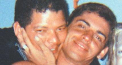 Márcio e Eduardo estavam juntos há dez anos (Foto: Arquivo)