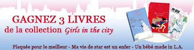 50 lots de 3 livres de la collection Girls in the city