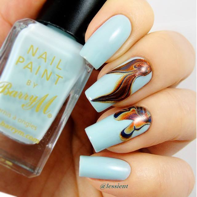 Try These Color Full Nails Art