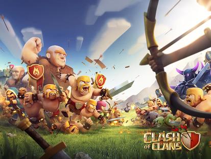 تحميل لعبة حرب العمالقه clash of clans للاندرويد