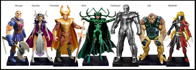 <b>Wave 14</b>: Skurge, Karnilla, Heimdall, Hela, Destroyer, Ulik and Malekith