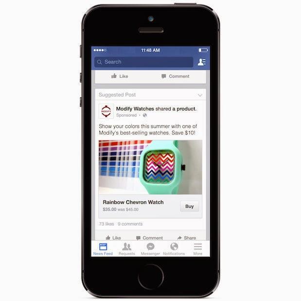 Botón Comprar de Facebook