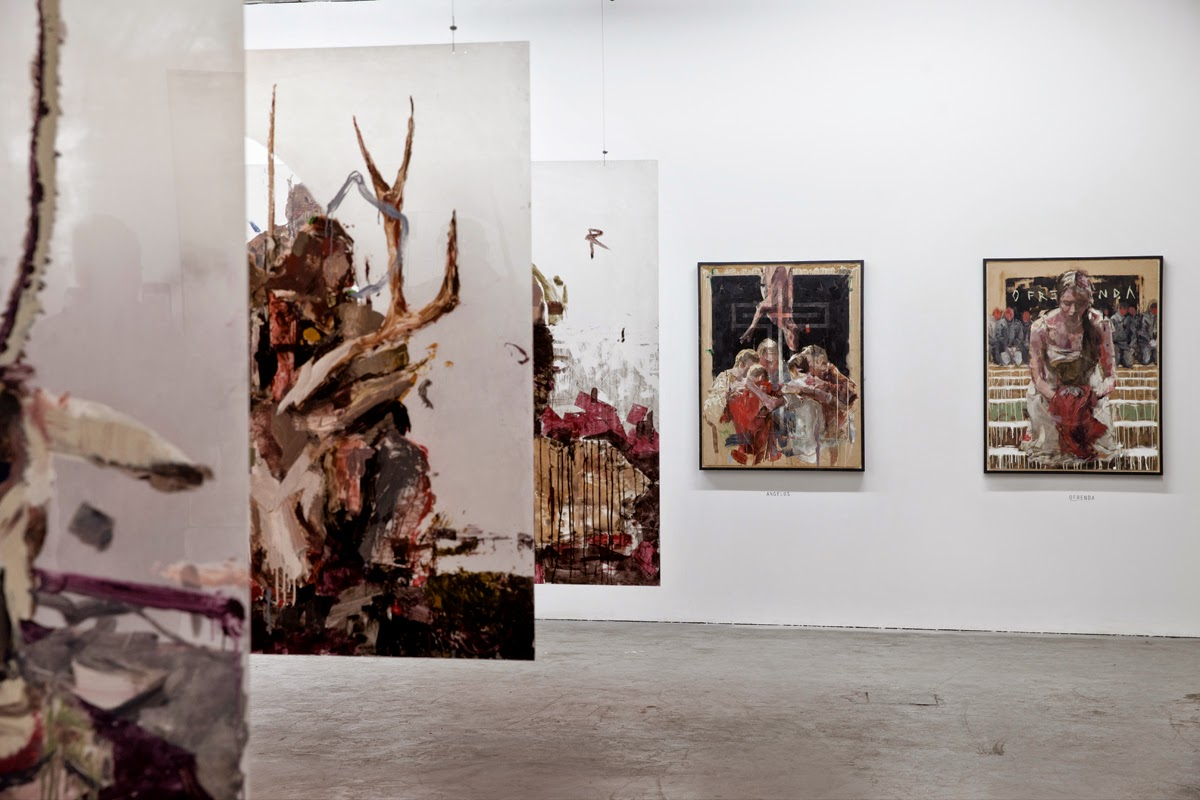 "Earlier this week, Borondo and RexRomae opened ""Animal"" in Shoreditch, the most anticipated exhibition of 2015 in London."