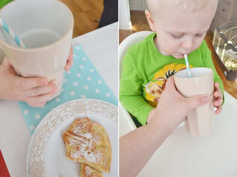 Przy śniadaniu i o sposobach na niejadka.