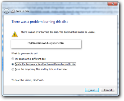 Burning data ke cd
