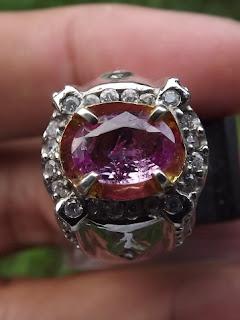 pink ceylon sapphire