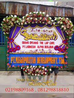 papan bunga congratulations grand opening kantor