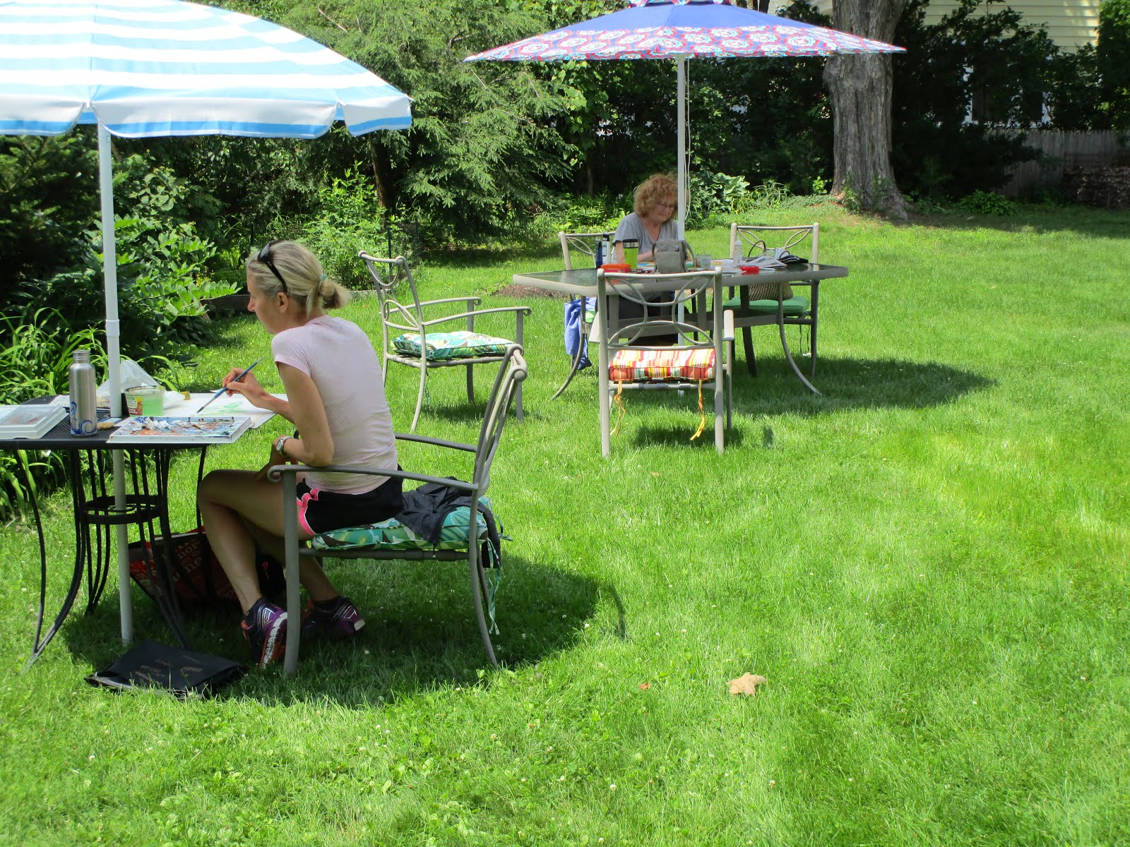 """2015, August 6, Thursday, 10-1, """"Free Paint Day"""""""