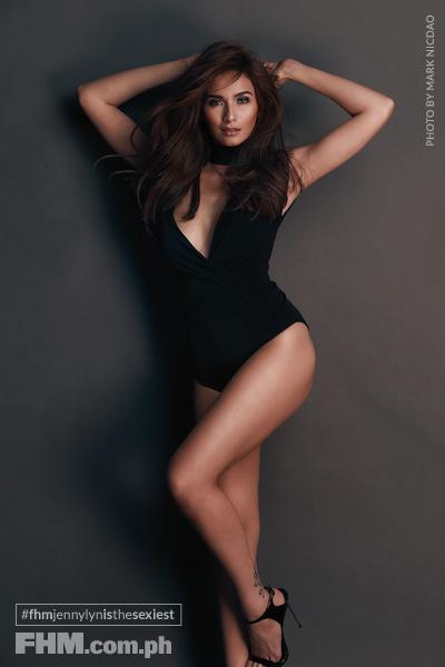 Jennylyn Mercado black bikini