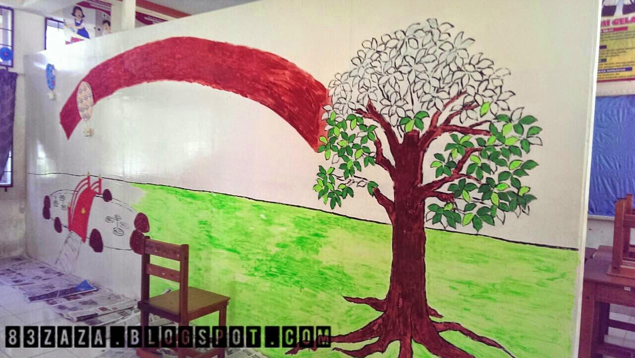 Indahnya kehidupan mural kelas pendidikan khas in progress for Mural yang cantik