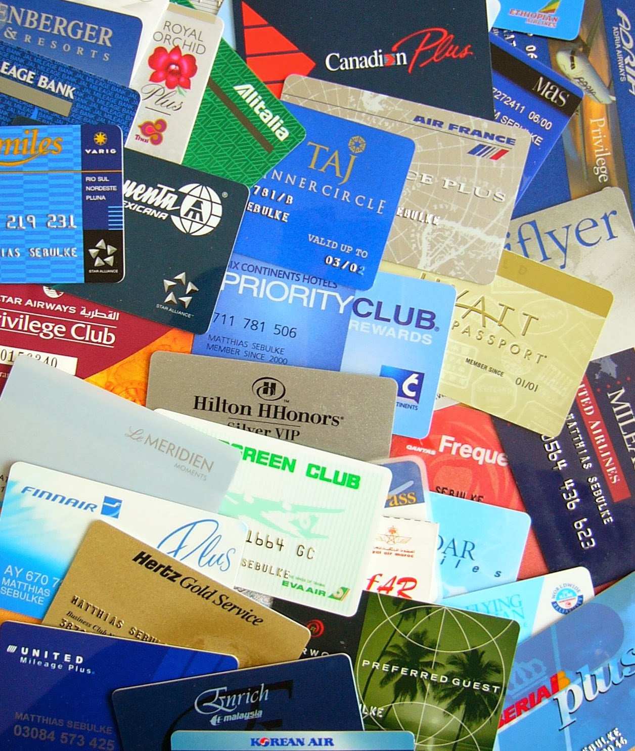 Credit card rewards programs offer incentives to customers
