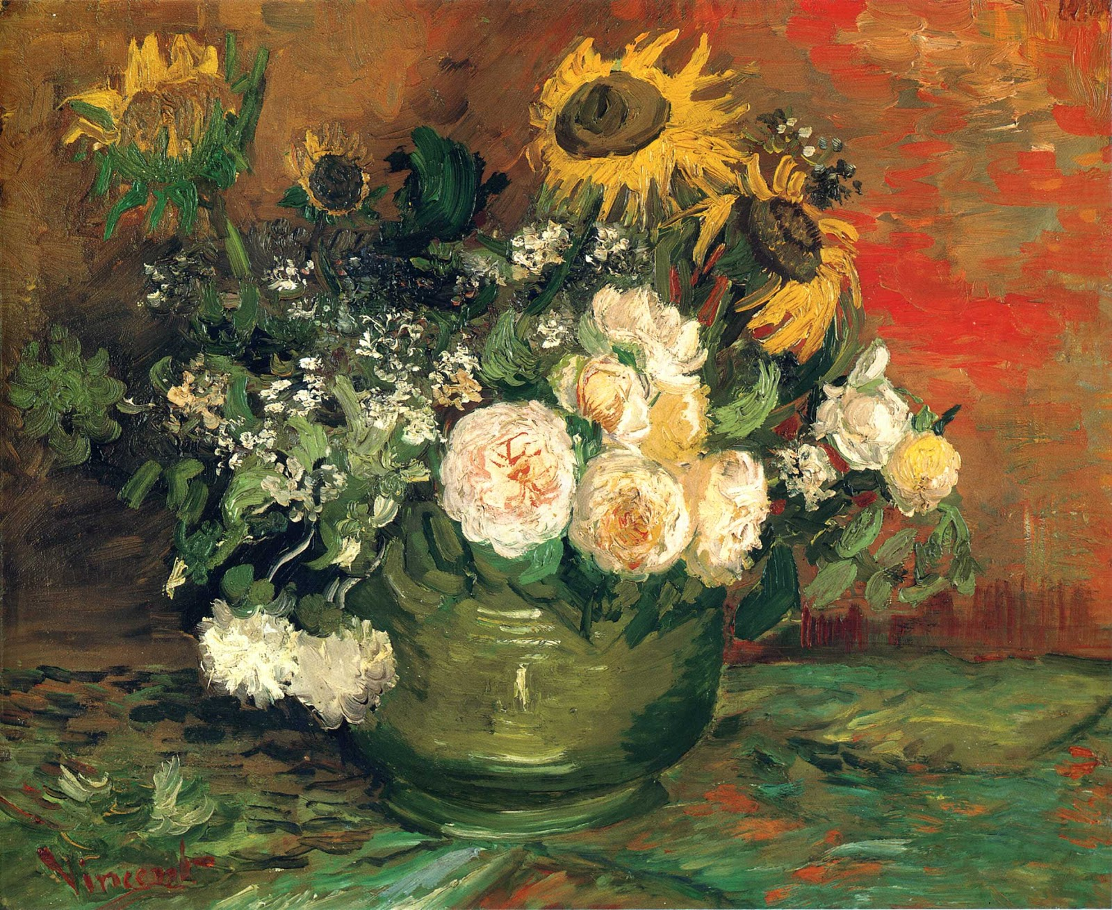 ART & ARTISTS Vincent van Gogh Flowers part 1