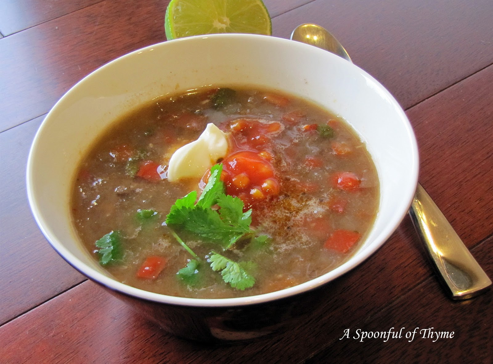 Black Bean Soup with Chipotle Chiles featuring Rancho Gordo Heirloom ...