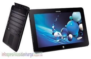 Harga SAMSUNG Ativ Smart PC Pro 700T Tablet Laptop Terbaru 2012