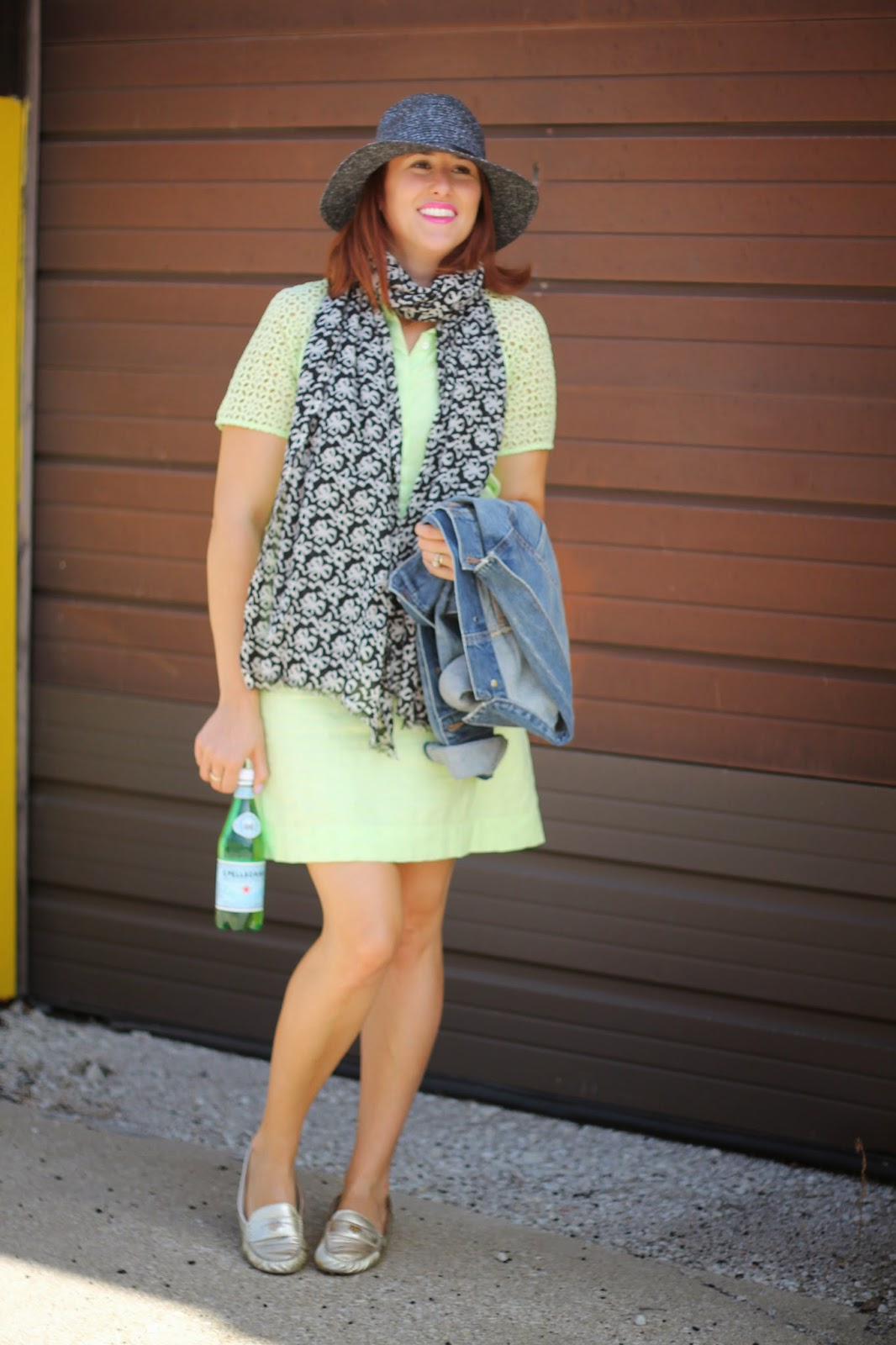 j, crew, eyelet, shirtdress