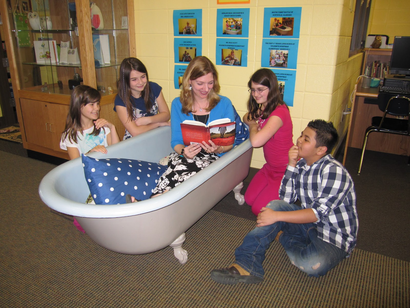 Every Day Is Special: February 9, 2013 - Read in the Bathtub Day