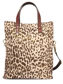 forever 21 leopard bag