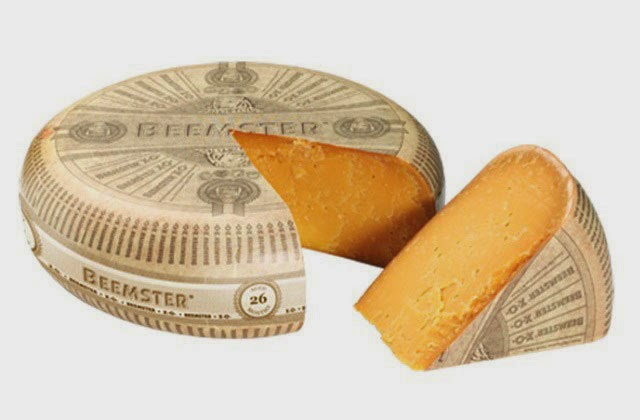 Wheel of Beemster X-O- cheese from Holland