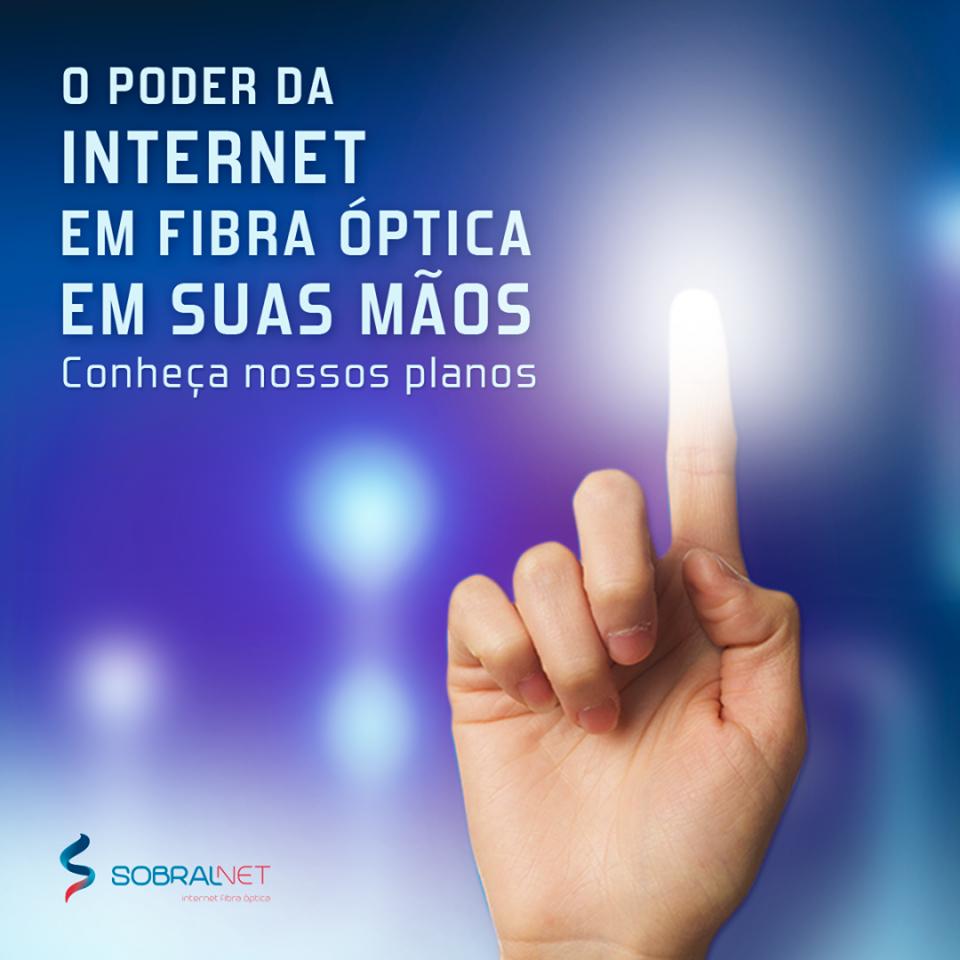 SOBRAL NET - INTERNET FIBRA ÓPTICA