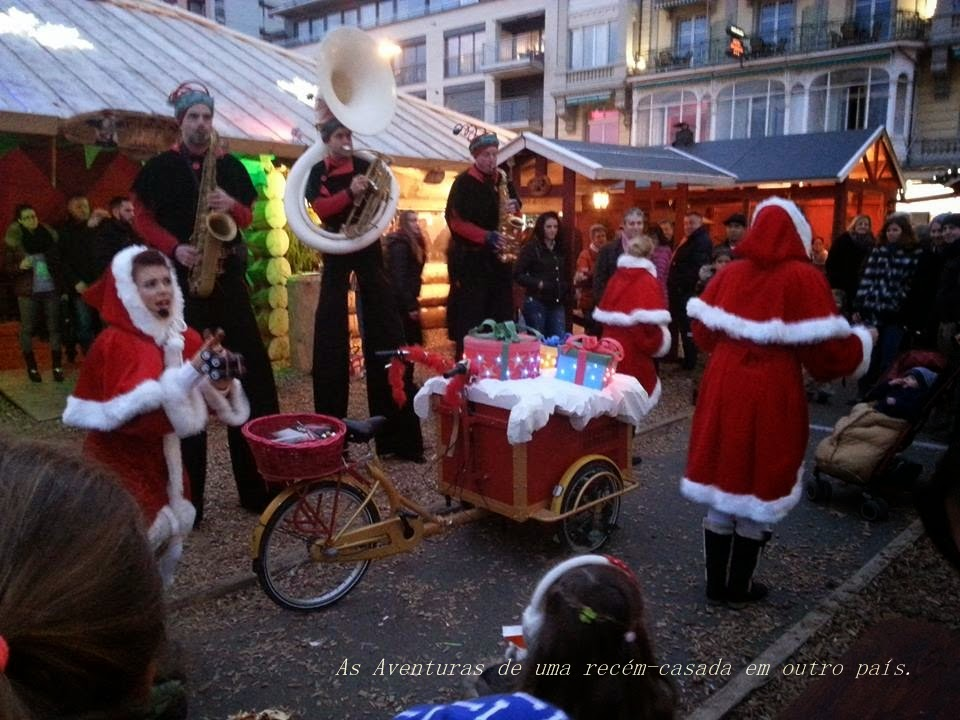 Marché de Noël#Noël Montreux#Feira de Natal em Montreux.