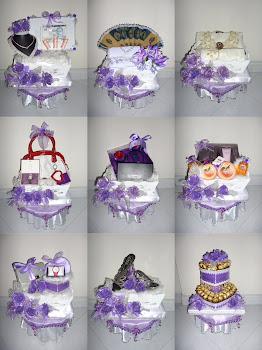 Gubahan Purple &White(27/10/12)