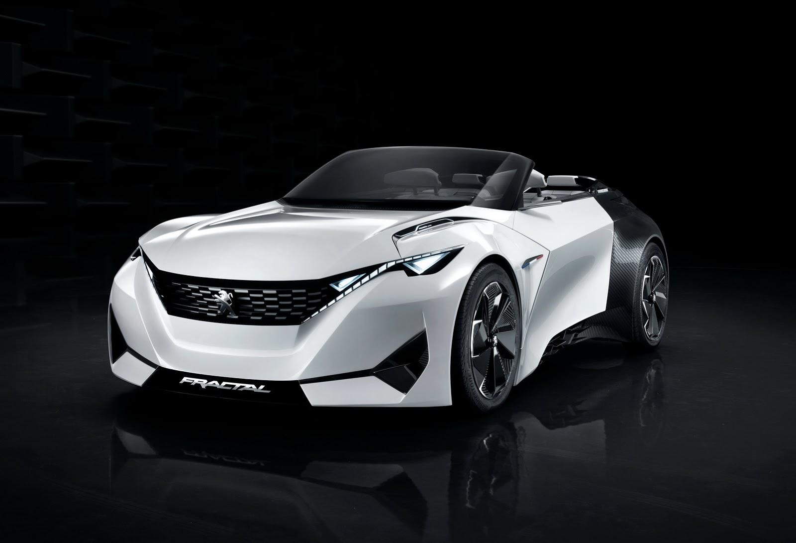 Peugeot Fractal Concept 2015 Presentazione Nuovi Modelli Auto Acura Advanced Sports Car 14jpeg