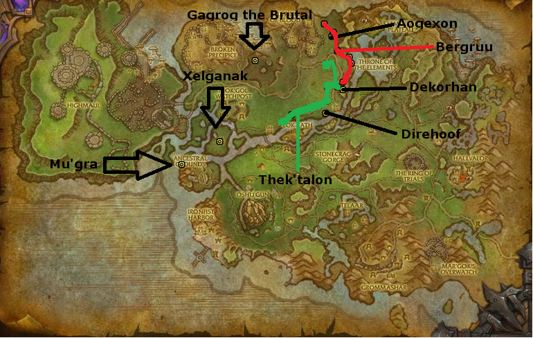 Warlords of draenor steamwheedle preservation society reputation