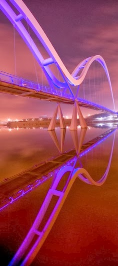 Infinity Bridge, Stockton-on-Tees, England