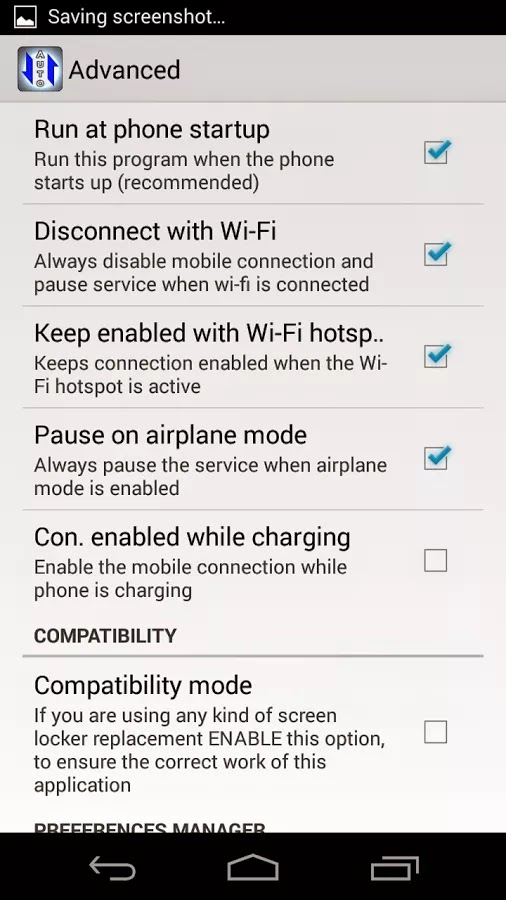 Auto 3G Pro Battery Saver apk