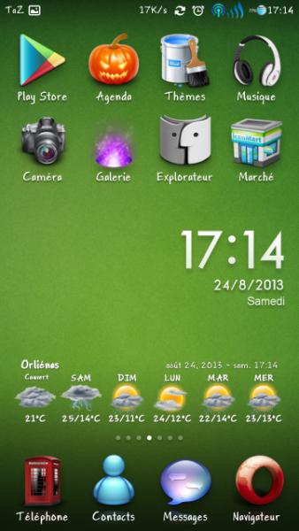 Xiaomi MIUI - Vert Theme